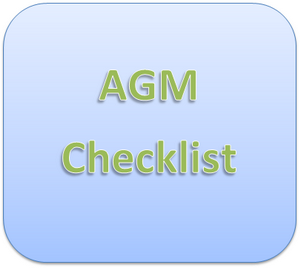 AGM Checkist