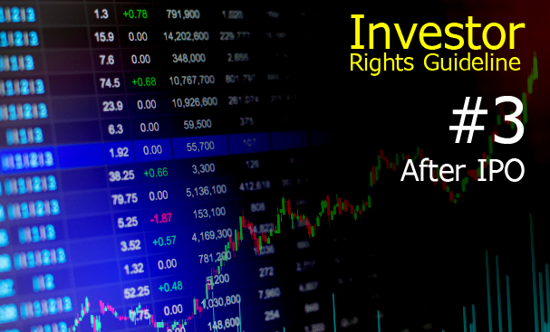 Investor Rights Guideline 3